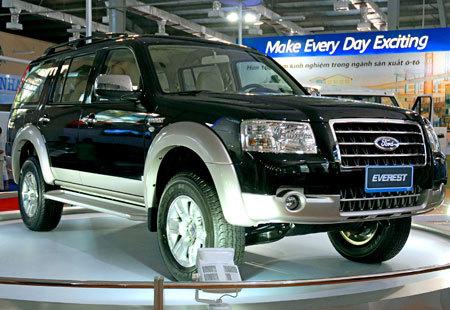 Dòng xe 7 chỗ như Everest vẫn sẽ sống tốt sau 1/4 nhờ phí trước bạ giảm. Ảnh: Hoàng Hà.