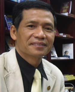 Tác giả Nguyễn Mạnh Hùng. Ảnh: PH