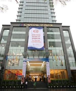 Hình ảnh mặt tiền tòa nhà sàn giao dịch Him Lam Land tại Hà Nội.