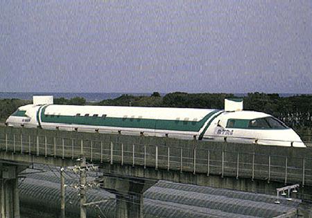 Năm 1987 tàu MLU 001 đạt tốc độ 400,3 km/h.