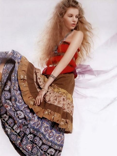 váy bohemieng
