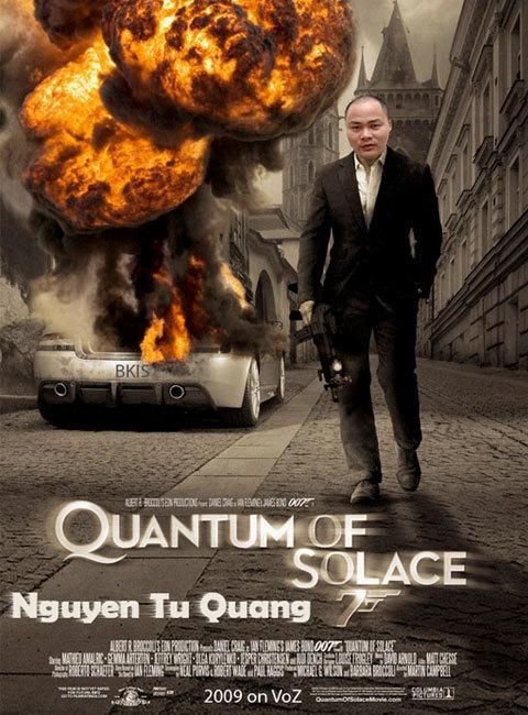 Nguyễn Tử Quảng biếm họa
