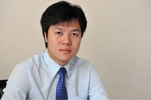 Nguyễn Hoàng Giang trở thành tổng giám đốc của một công ty chứng khoán lớn khi mới 24 tuổi. Ảnh: Hoàng Hà