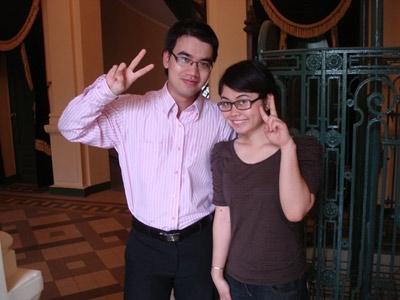 Phạm Duy Tân & Phạm Thị Phương Nhung hiện là Media Planner của Công ty Truyền thông Đất Việt VAC
