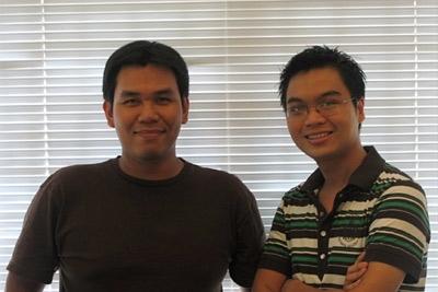 Nguyễn Ngọc Hoàng Vương & Nguyễn Thái Huy hiện làm việc tại Công ty River Orchid. Vương là Art Director, còn Huy là Senior Copywriter.