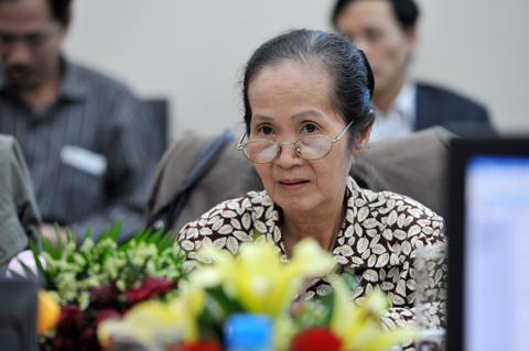 Chuyên gia Phạm Chi Lan. Ảnh: Hoàng Hà