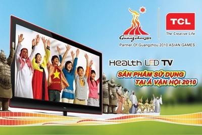 TCL trở thành đối tác của Á vận hội thể thao châu Á lần thứ 16 tại Quảng Châu- Trung Quốc.