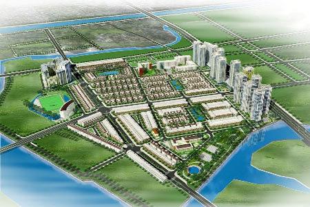 Toàn cảnh khu Đô thị mới Him Lam Kênh Tẻ.