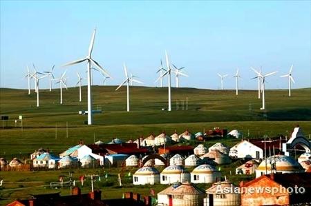 Trung Quốc đang nỗ lực tăng tỷ trọng của năng liện điện sạch. Ảnh minh họa: China Daily