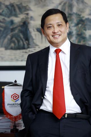 Ông Nguyễn Văn Đạt - Chủ tịch HĐQT kiêm Tổng giám đốc Phát Đạt.