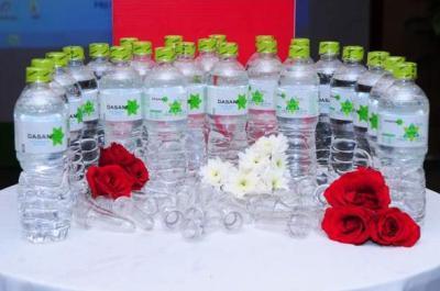 Chai Dasani có trọng lượng chai nhựa rỗng siêu nhẹ độc đáo nhằm bảo vệ môi trường.