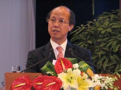 Thứ trưởng Bộ Xây dựng Nguyễn Trần Nam. Ảnh: HL