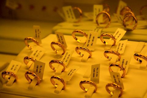 Nhẫn tròn trơn vàng 9999 đang lên cơn