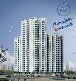 Tổng thể dự án Him Lam Riverside.