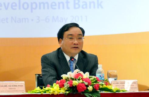 Phó thủ tướng Hoàng Trung Hải tại Hội nghị cấp cao về đầu tư kinh doanh tại Việt Nam