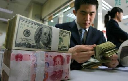 Trung Quốc đã lỗ hơn 271 tỷ USD dự trữ ngoại hối do đồng USD mất giá. Ảnh: China Daily