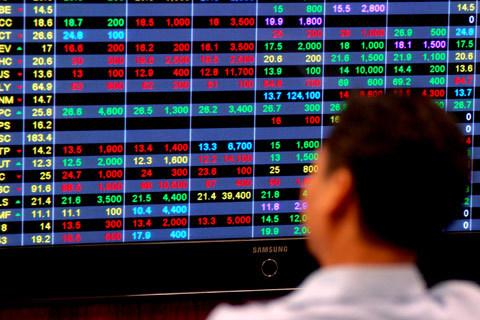 Thị trường lao dốc, cổ phiếu thưởng biến thành cổ phiếu phạt. Ảnh minh họa