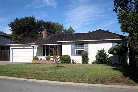 Ngôi nhà nơi Steve Jobs lớn lên.