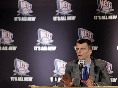 Tỷ phú Mikhail Prokhorov hiện sở hữu câu lạc bộ New Jersey Nets