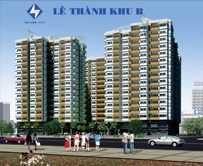 Tổng quan khu cư dự án chung cư Lê Thành.