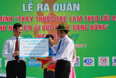 Phối hợp với Bộ Y tế, các chuyên gia về dinh dưỡng ở Việt Nam thực hiện các chương trình nghiên cứu về dinh dưỡng, các chương trình đánh giá tình trạng dinh dưỡng nhằm tìm ra những giải pháp dinh dưỡng phù hợp hơn cho trẻ em Việt Nam, mang đến những kiến thức và thực hành dinh dưỡng tốt nhất phục vụ cho sức khỏe của người dân Việt Nam, góp phần cải thiện chất lượng dinh dưỡng cho trẻ em Việt Nam.