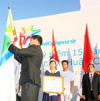 Huân chương lao động hạng Nhì từ nhà nước là phần thưởng xứng đáng cho những nỗ lực và đóng góp của Cô Gái Hà Lan (FrieslandCampina Việt Nam hiện nay) suốt 15 năm qua.