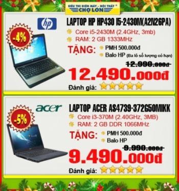 Nhiều quà tặng khi mua laptop.