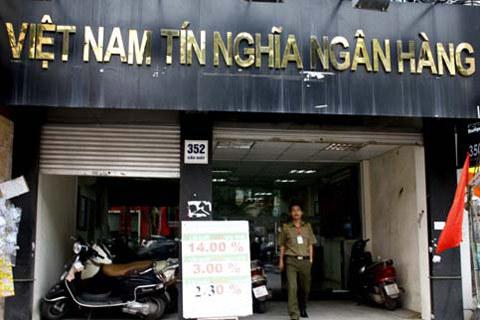 Ngân hàng Việt Nam Tín Nghĩa là một trong 3 nhà băng được chấp nhận sáp nhập tự nguyện. Ảnh: Tuệ Minh.