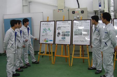 Làm việc có hệ thống và được đào tạo bàn bản là thế mạnh của Nissan Techno.