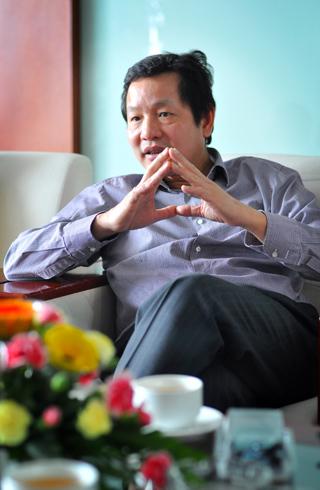 Ông Trương Gia Bình cũng cho rằng kinh tế châu Á và Việt Nam đang có nhiều cơ hội phát triển. Ảnh: Nhật Minh