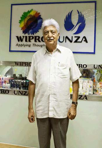 Ông Azim Premji - chủ tịch tập đoàn Wipro.