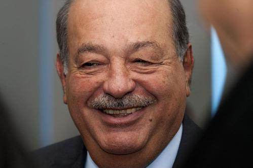 Carlos Slim tiếp tục là người giàu nhất thế giới trong năm thứ 3 liên tiếp. Ảnh: Bloomberg / AFP