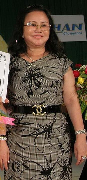Nữ đại gia thủy sản Phạm Thị Diệu Hiền được cho là đã ra nước ngoài chữa bệnh, để lại khoản nợ lớn cho Bianfishco. Ảnh: Thiên Phước.