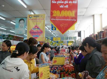 Ngày vàng mua sắm 20.000đ luôn thu hút sự quan tâm của đông đảo khách hàng.