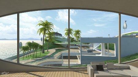 Ý tưởng chủ đạo của du thuyền là tạo cảm giác thư giãn, gần gũi với thiên nhiên, vườn tược cho hành khách. Không chỉ vậy, trên thuyền còn có hệ thống lọc nước mưa và tái sử dụng để tiết kiệm tối đa chi phí vận hành.
