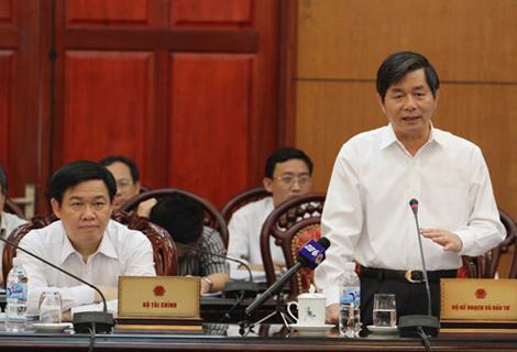 Bộ trưởng Bùi Quang Vinh. Ảnh: Nguyễn Hưng