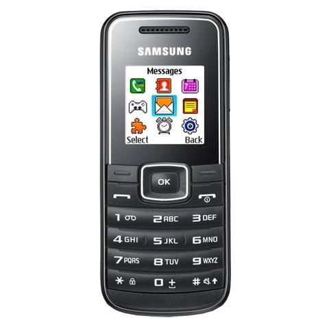 Điện thoại Samsung E1050 chỉ có 299.000 đồng.
