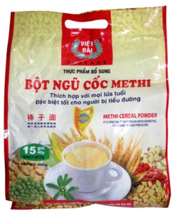 Ngũ cốc Methi thực phẩm bổ sung dinh dưỡng cho mọi lứa tuổi.