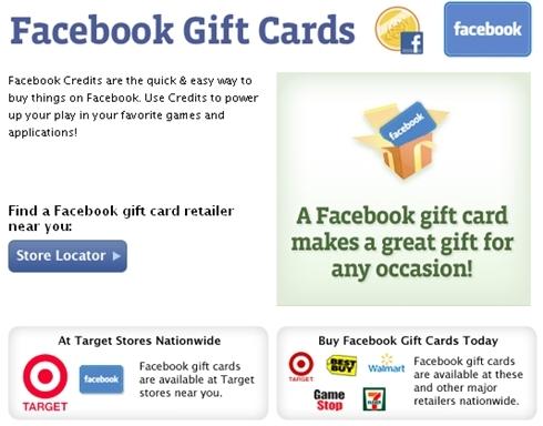 Dịch vụ quà tặng là một mỏ vàng với Facebook.