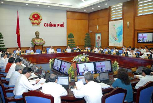 Chính phủ khẳng định mục tiêu ổn định kinh tế vĩ mô, kiềm chế lạm phát trong 6 tháng cuối năm và những năm tiếp theo. Ảnh: Chinhphu.vn