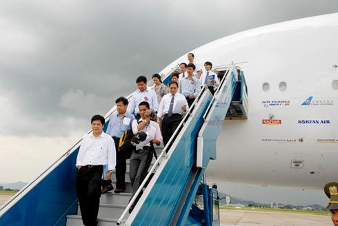Các hãng hàng không đang khai thác hết công suất cao điểm hè. Ảnh minh họa: Hoàng Hà