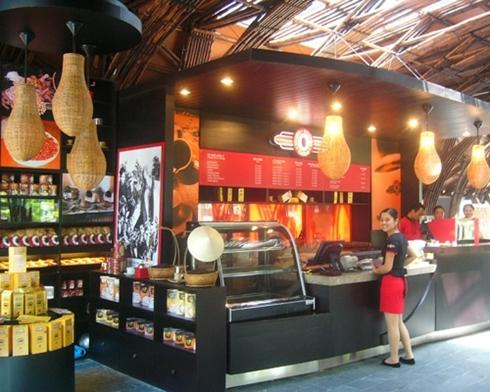 Trung Nguyên hiện là hãng chế biến cafe lớn nhất Việt Nam. Ảnh: Giacaphe.com