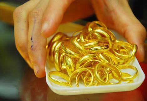 Thị trường vàng quốc tế hồi phục sau khi xuống đáy của một tháng. Ảnh: Anh Quân