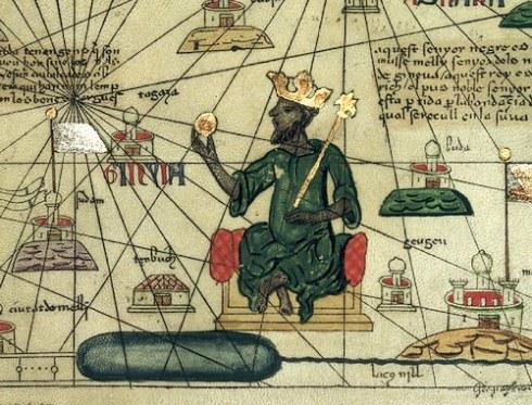 Mansa Musa I, người cai trị Mali ở Tây Phi là người đứng đầu danh sách. Ảnh Celebrity Net Worth