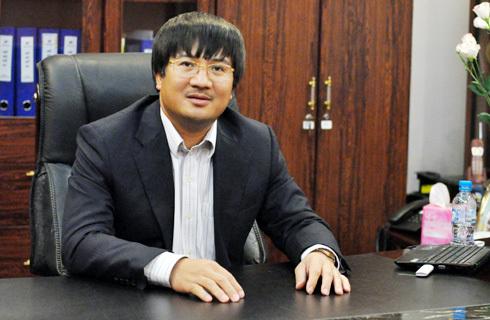 Chủ tịch Tập đoàn Phú Thái - Phạm Đình Đoàn là một trong 50 nhân vật tiên phong do VnExpress.net bầu chọn. Ảnh: N.M