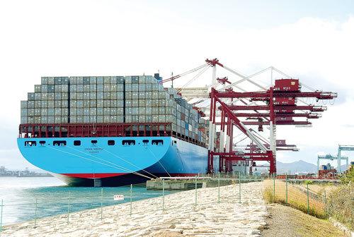 Dịch vụ giao nhận vận tải của Maersk Logistics.