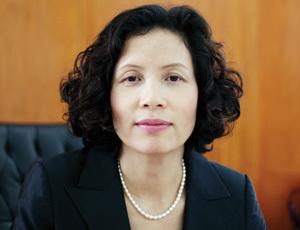 Bà Bùi Thị Mai - nguyên tổng giám đốc Habubank.