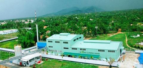 Nhà máy năng lượng xanh của SSG.
