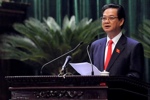 Phần trả lời chất vấn của Thủ tướng đang được cử tri chờ đợi. Ảnh: Hoàng Hà
