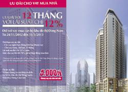 Vay mua nhà dự án NO4 khu đô thị Đông Nam